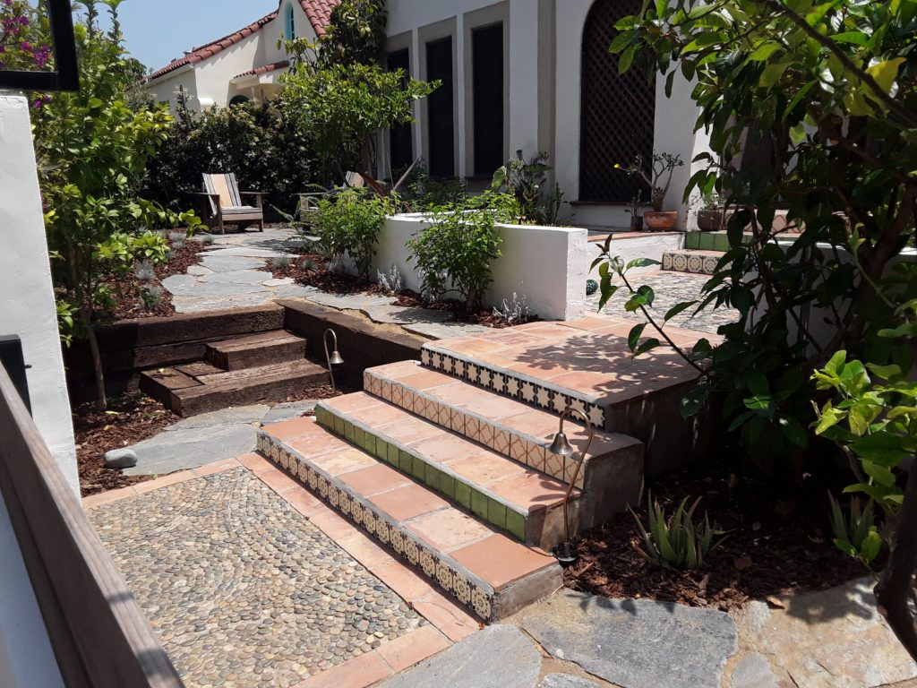 image: landscaping installation