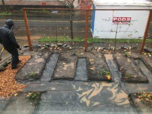 image: landscaping installation