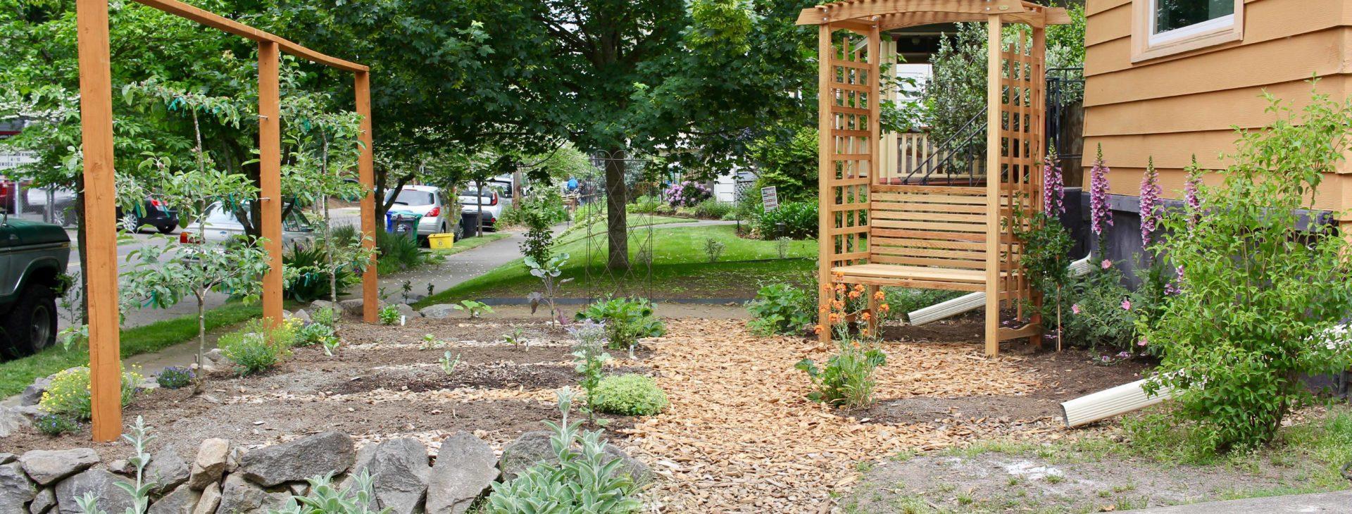 image: landscape design Portland