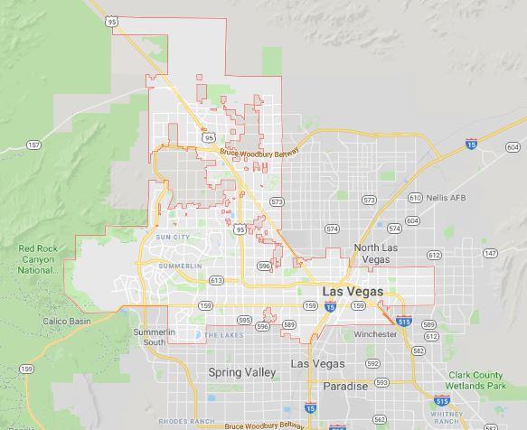 image: landscape design Las Vegas